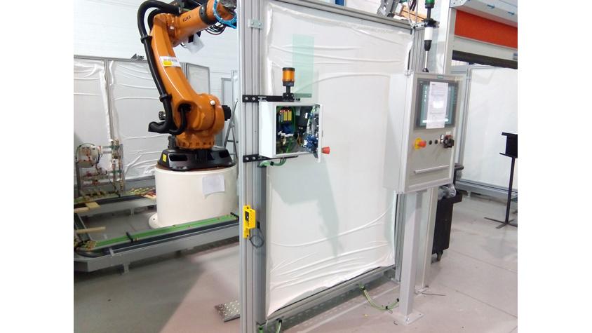 Control de célula robotizada