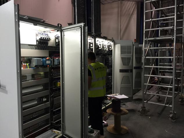 Reparaciones eléctricas industriales