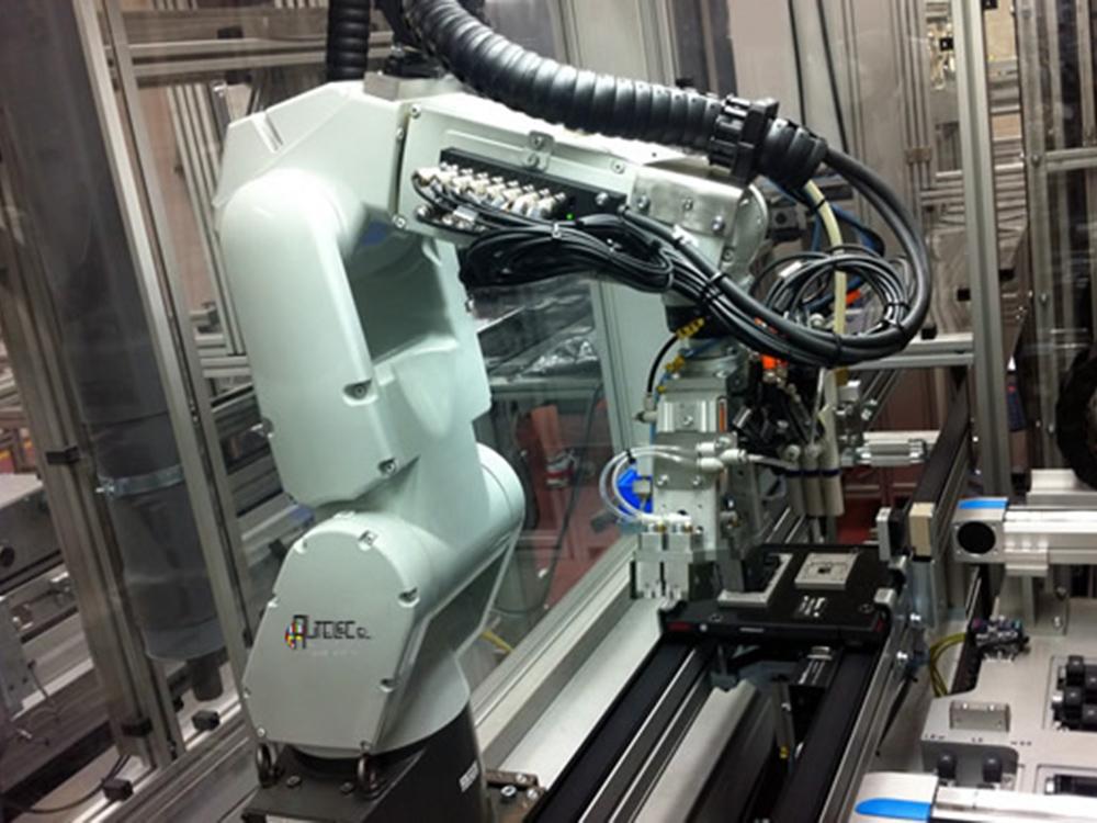 Instalación de máquinas en campo